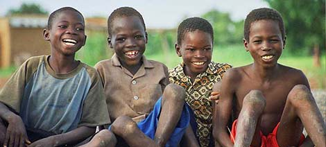 Niños beneficiarios del programa 'Dembayá' de Cruz Roja. (Foto: Cruz Roja)